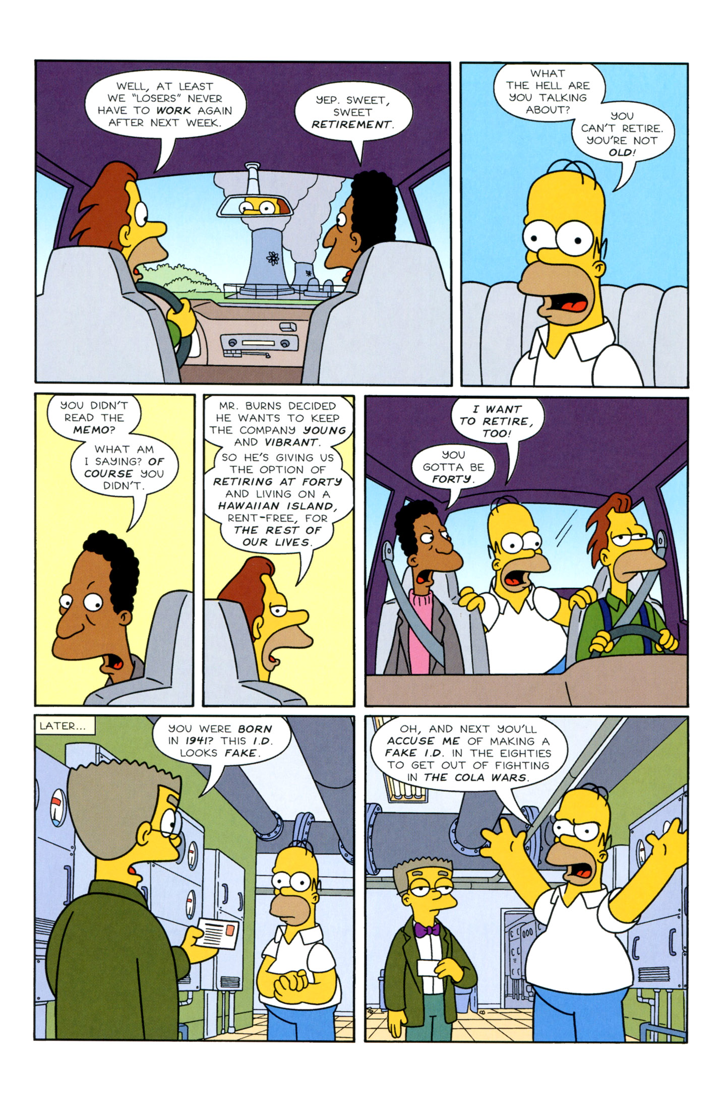 Read online Simpsons Illustrated (1991) comic -  Issue #3 - 8