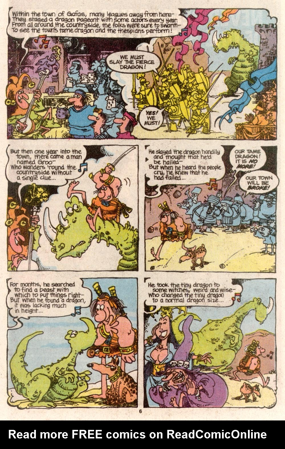 Read online Sergio Aragonés Groo the Wanderer comic -  Issue #68 - 5