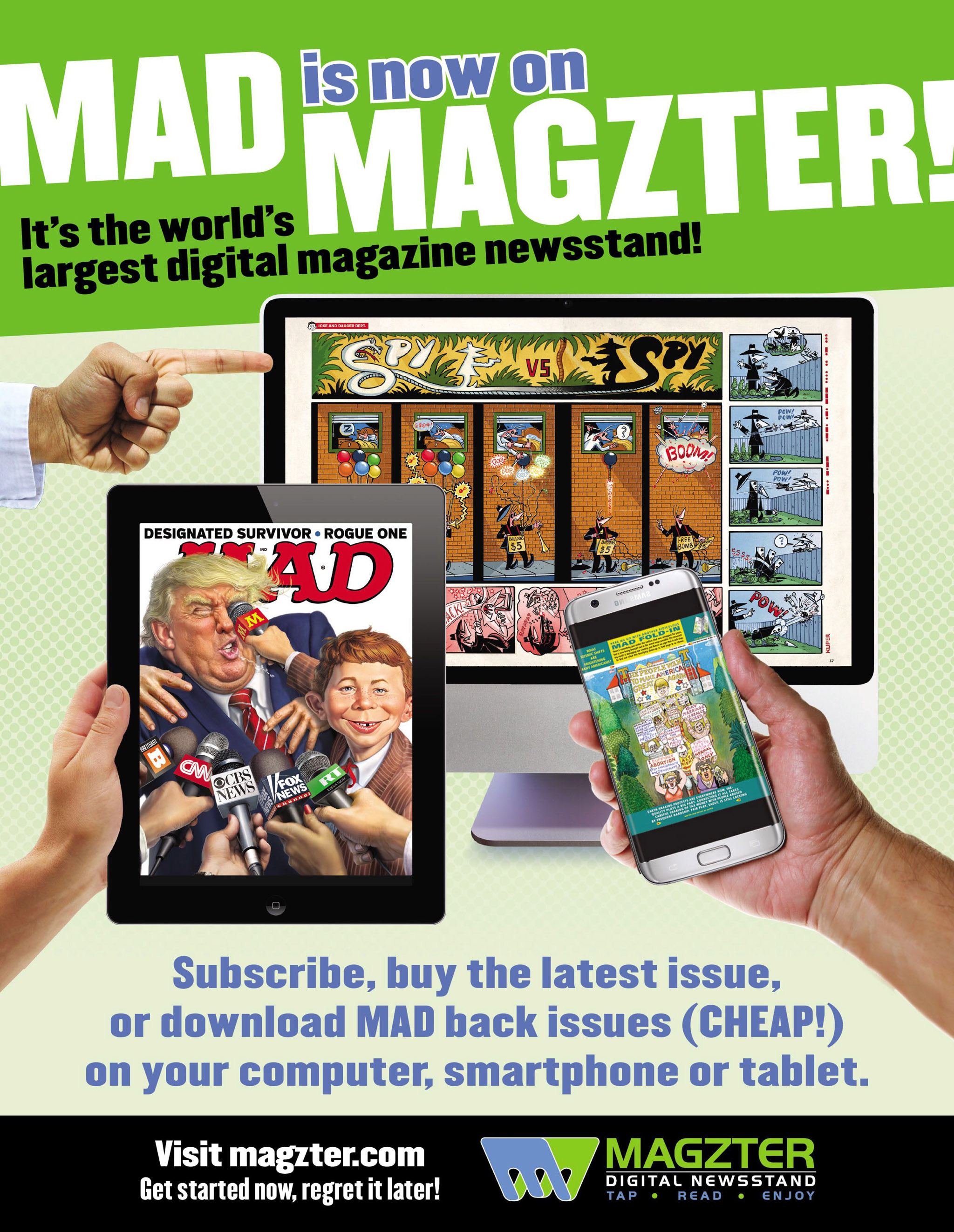 Read online MAD comic -  Issue #546 - 25