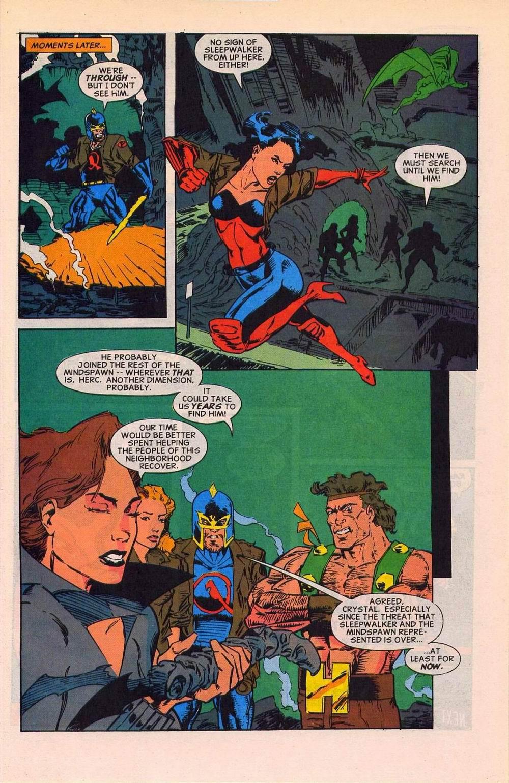 Read online Sleepwalker comic -  Issue #27 - 22