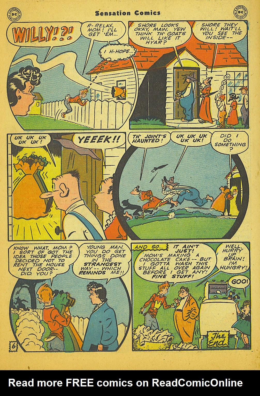 Read online Sensation (Mystery) Comics comic -  Issue #66 - 38