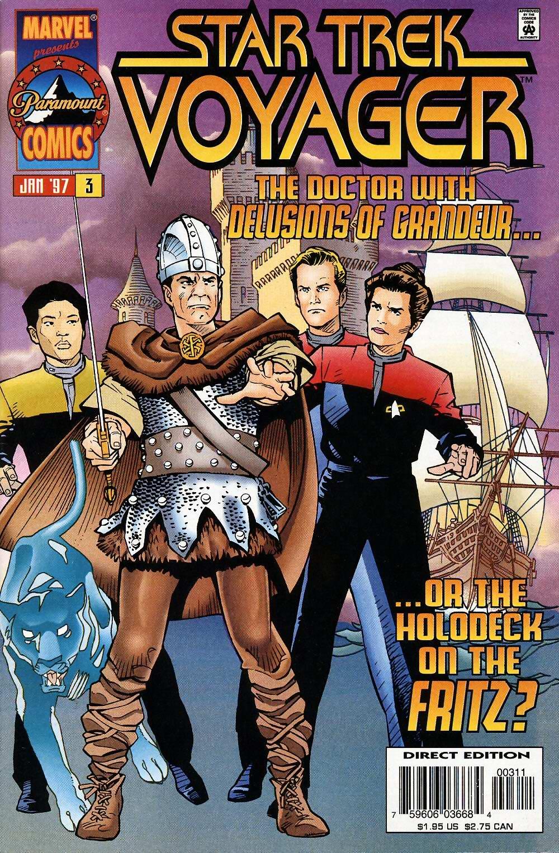 Star Trek: Voyager issue 3 - Page 1