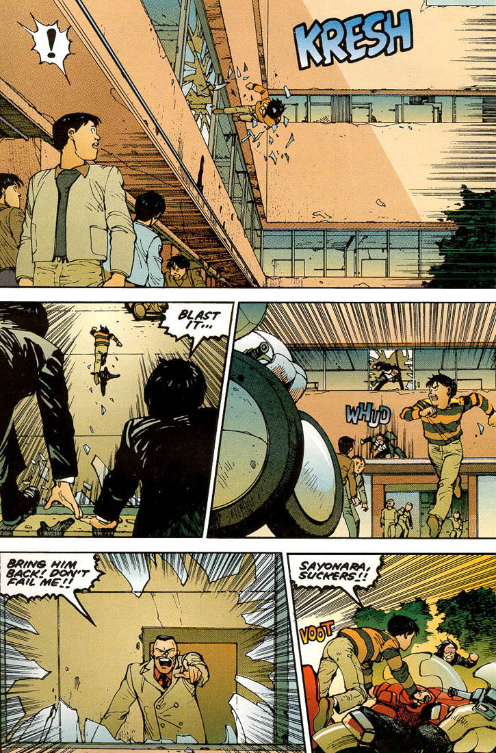 Read online Akira comic -  Issue #3 - 19