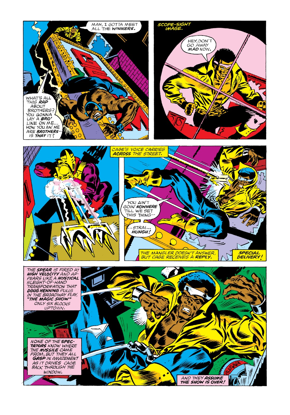 Read online Marvel Masterworks: Luke Cage, Power Man comic -  Issue # TPB 3 (Part 1) - 49
