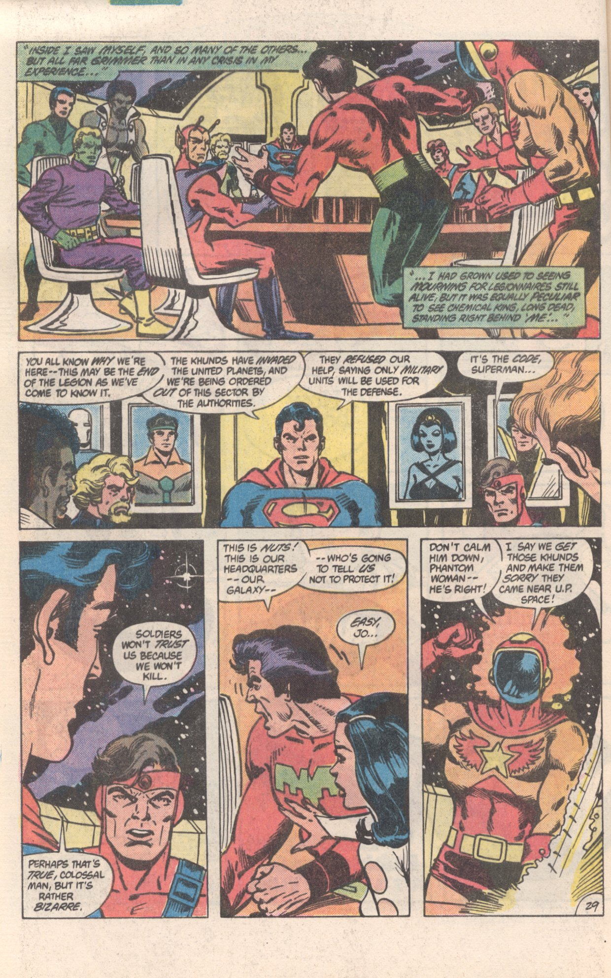 Legion of Super-Heroes (1980) 300 Page 29