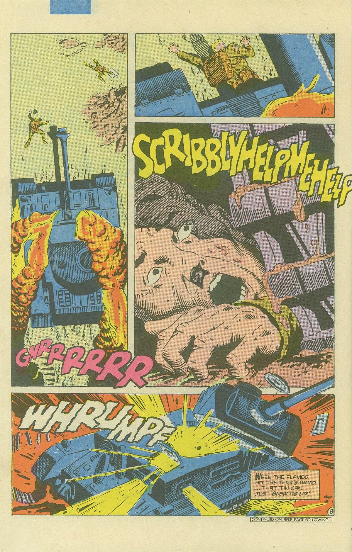 Read online Sgt. Rock comic -  Issue #408 - 11