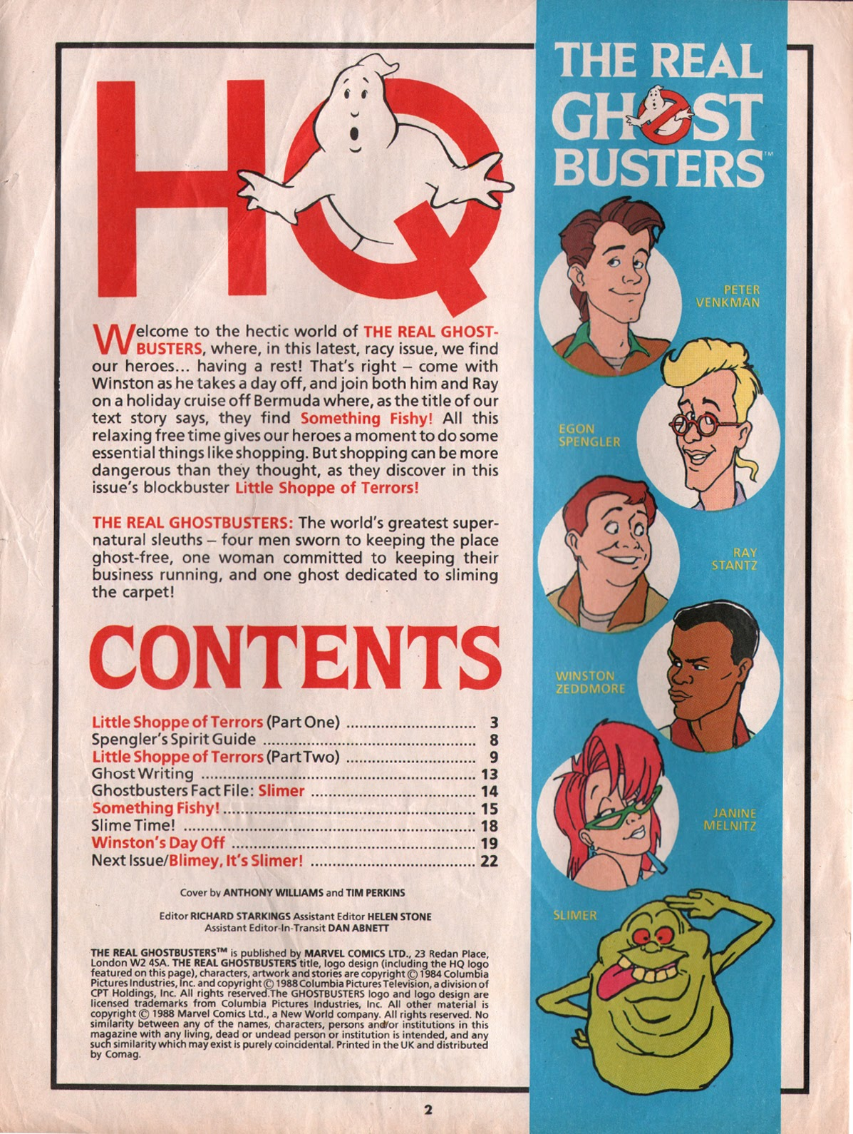The Real Ghostbusters Issue #5 #7 - English 2