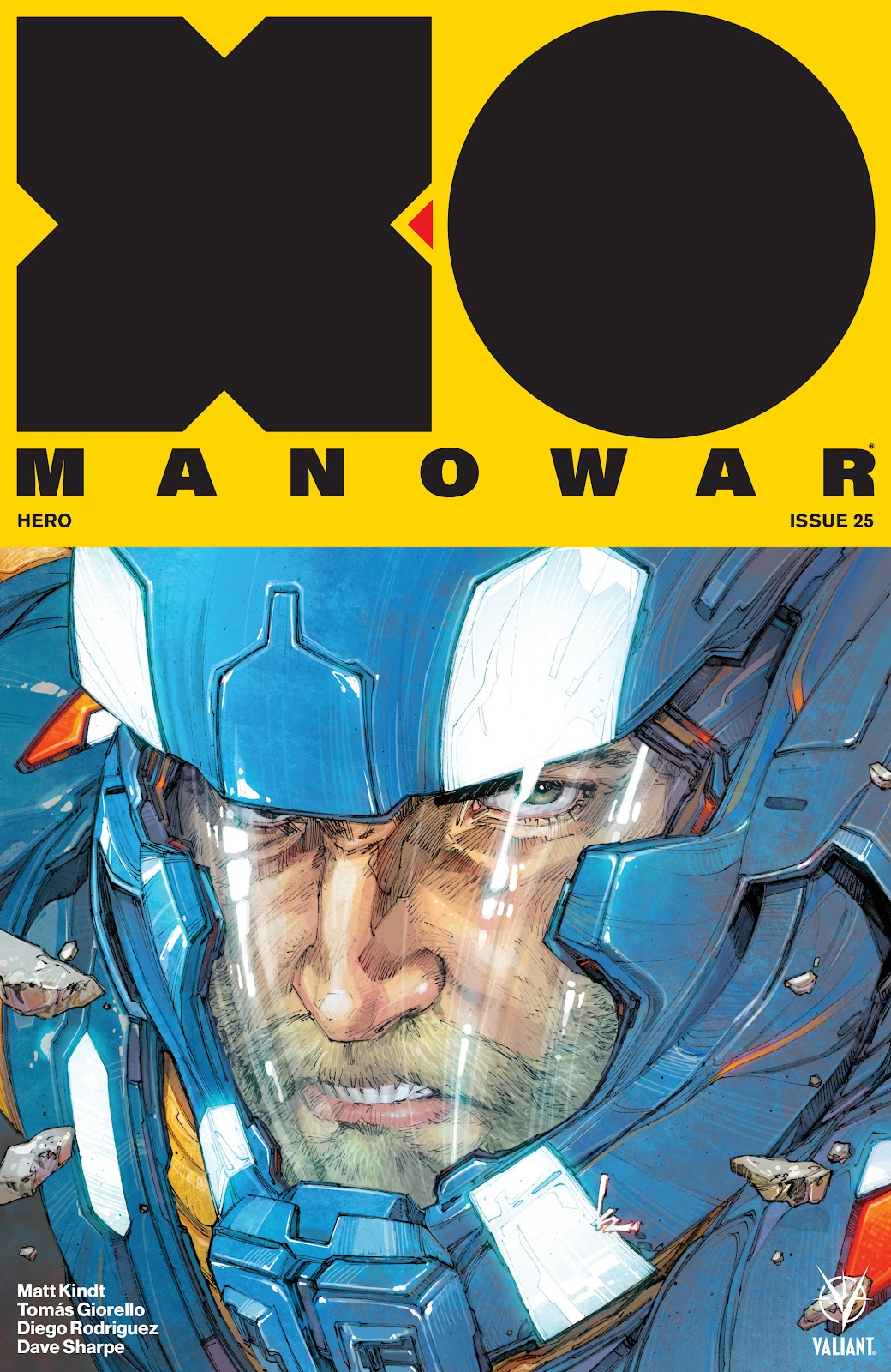 Read online X-O Manowar (2017) comic -  Issue #25 - 1