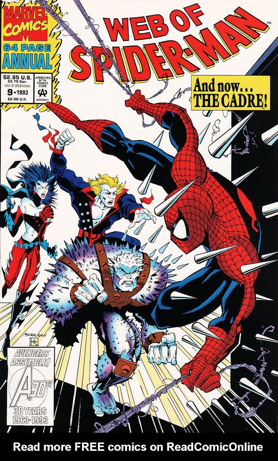 Web of Spider-Man (1985) _Annual 9 #9 - English 1