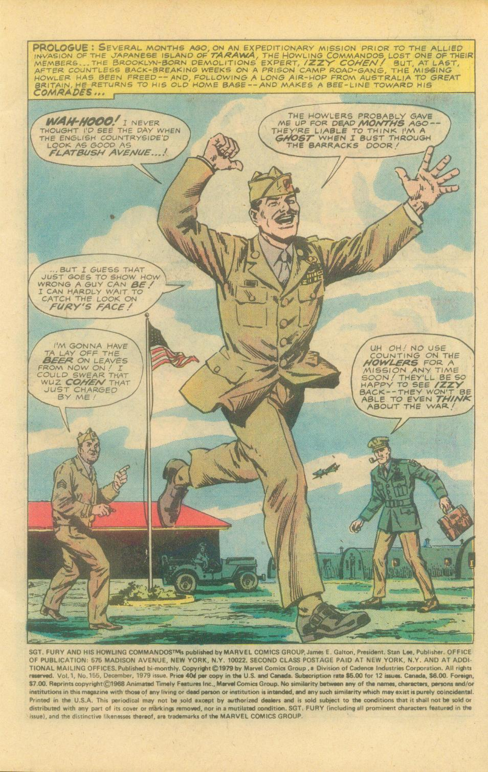 Read online Sgt. Fury comic -  Issue #155 - 3