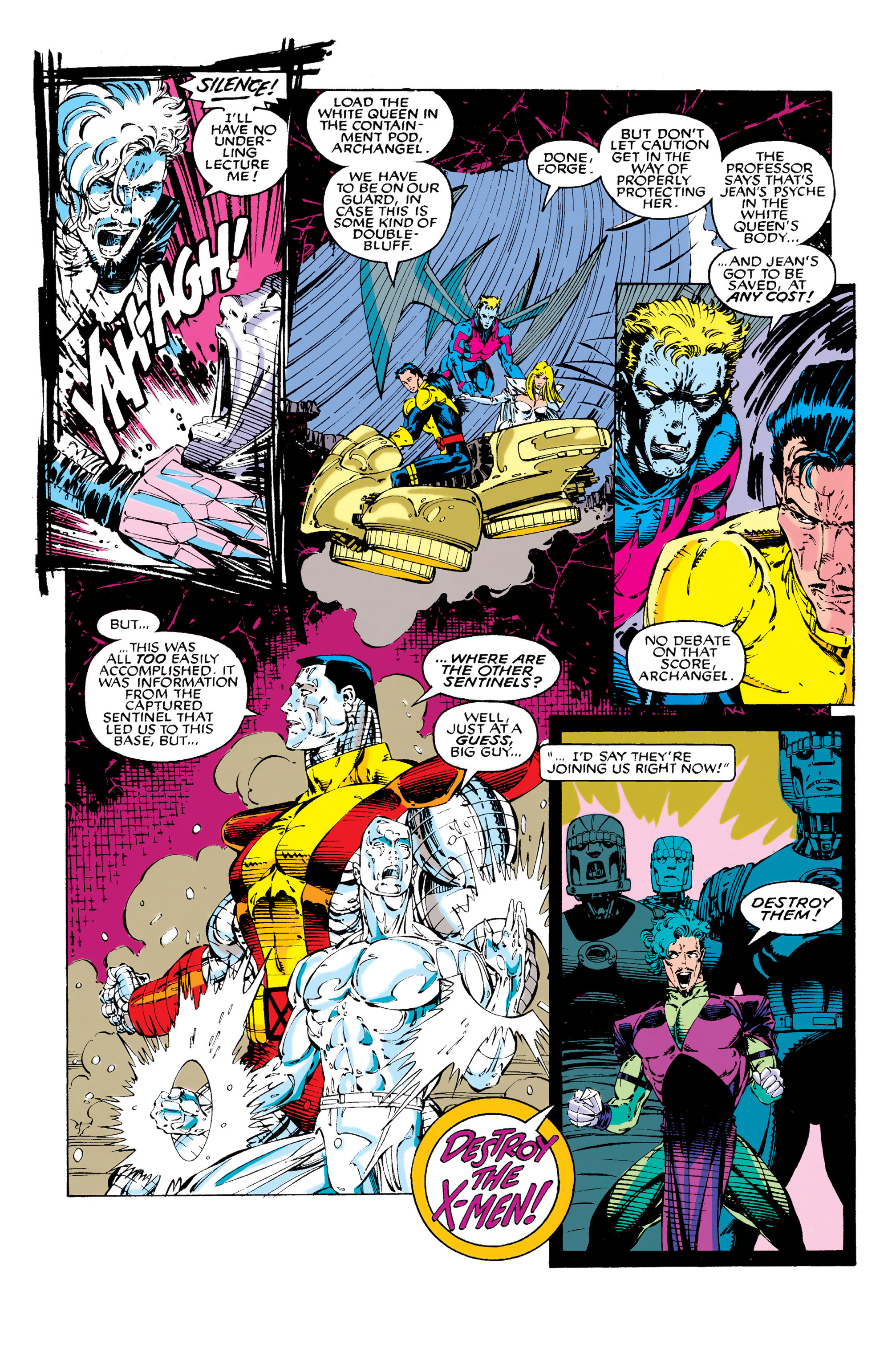 Read online Uncanny X-Men (1963) comic -  Issue #282 - 16