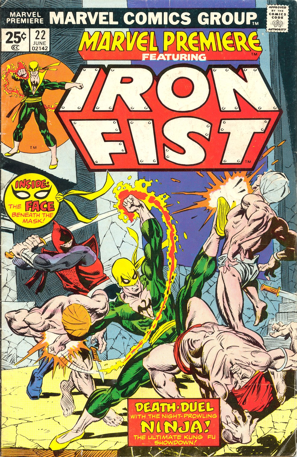 Marvel Premiere issue 22 - Page 1