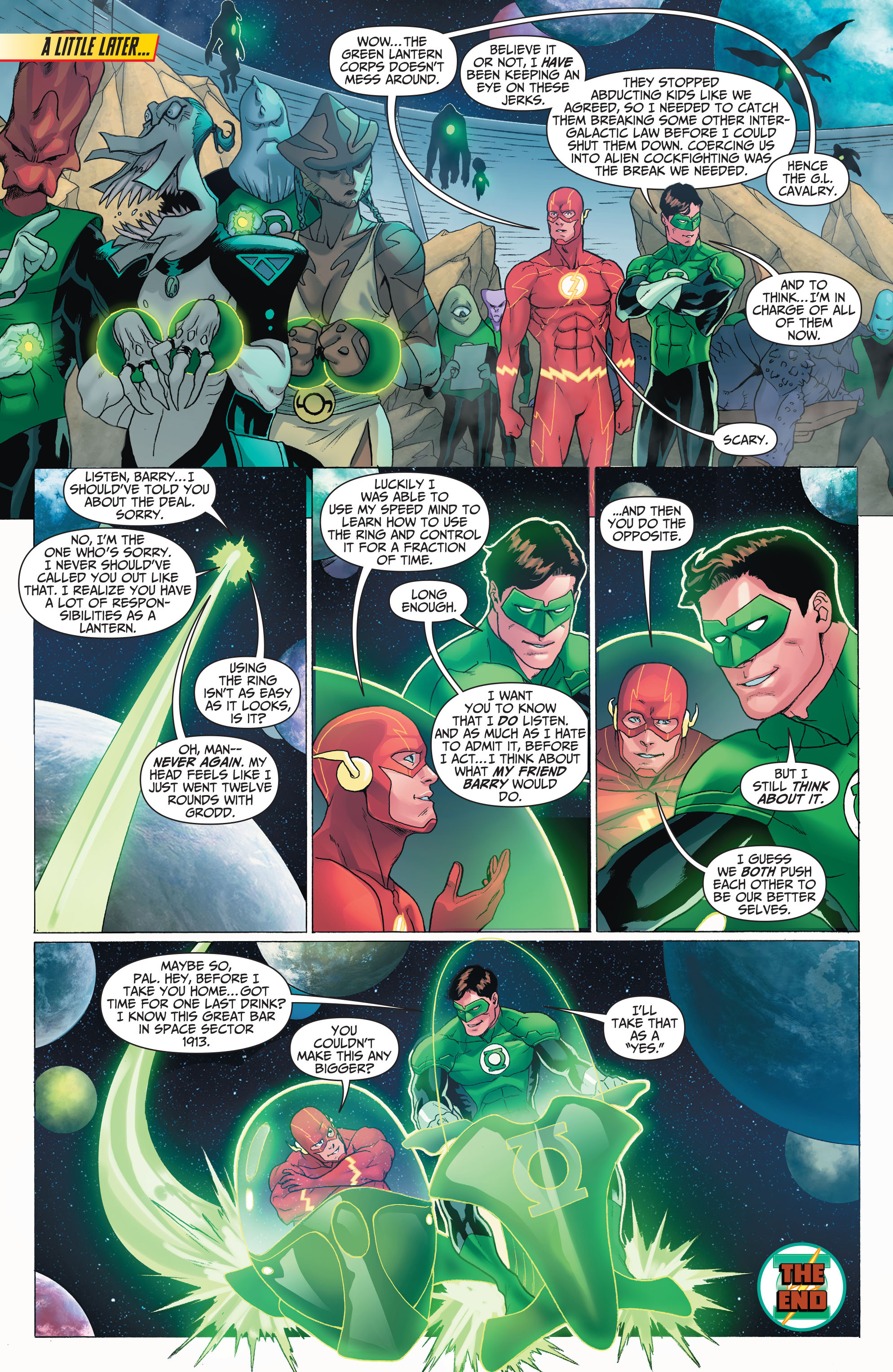 Read online The Flash (2011) comic -  Issue # _TPB 5 - 33