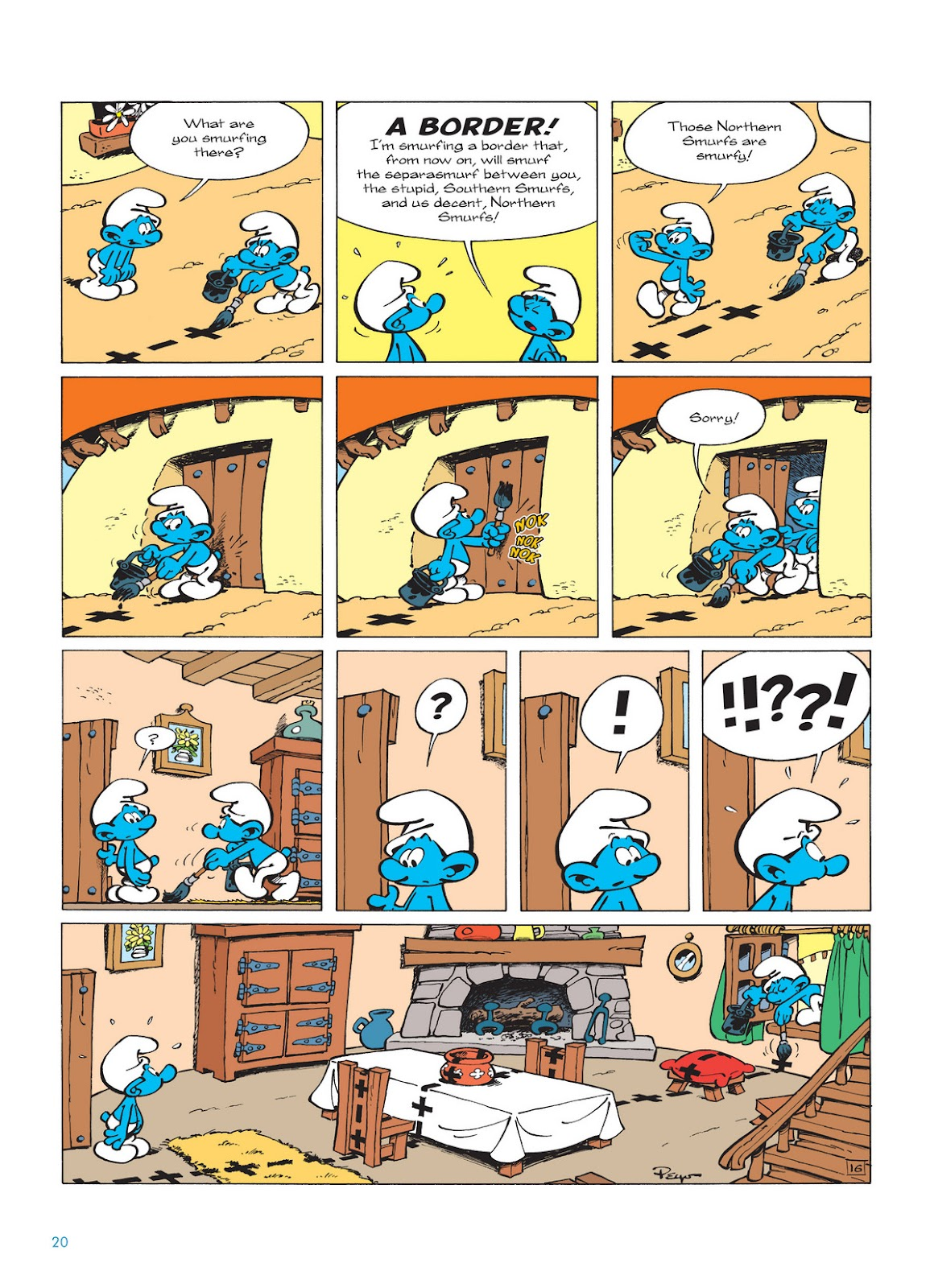 Read online The Smurfs comic -  Issue #12 - 20