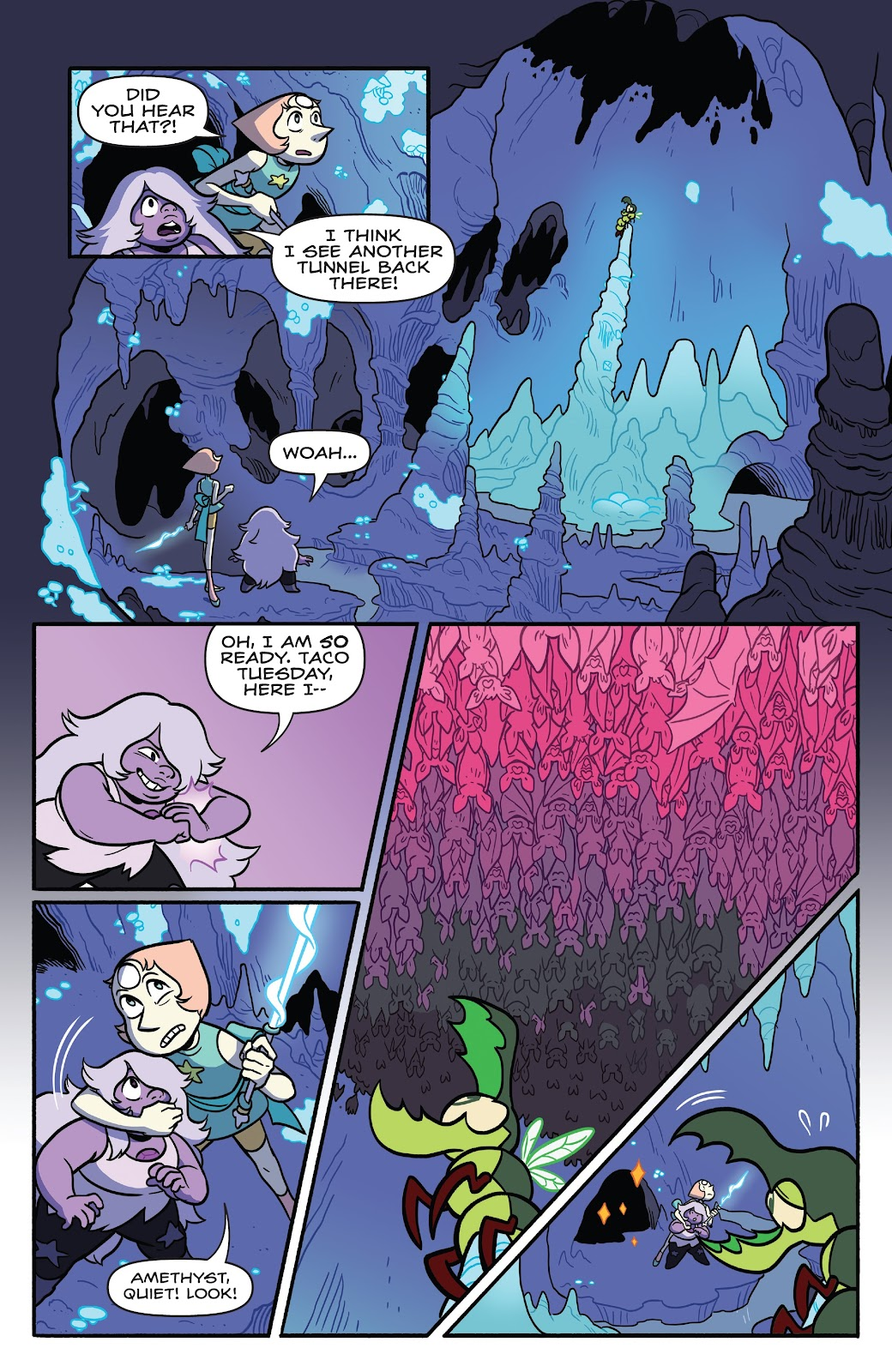 Read online Steven Universe: Fusion Frenzy comic -  Issue # Full - 27