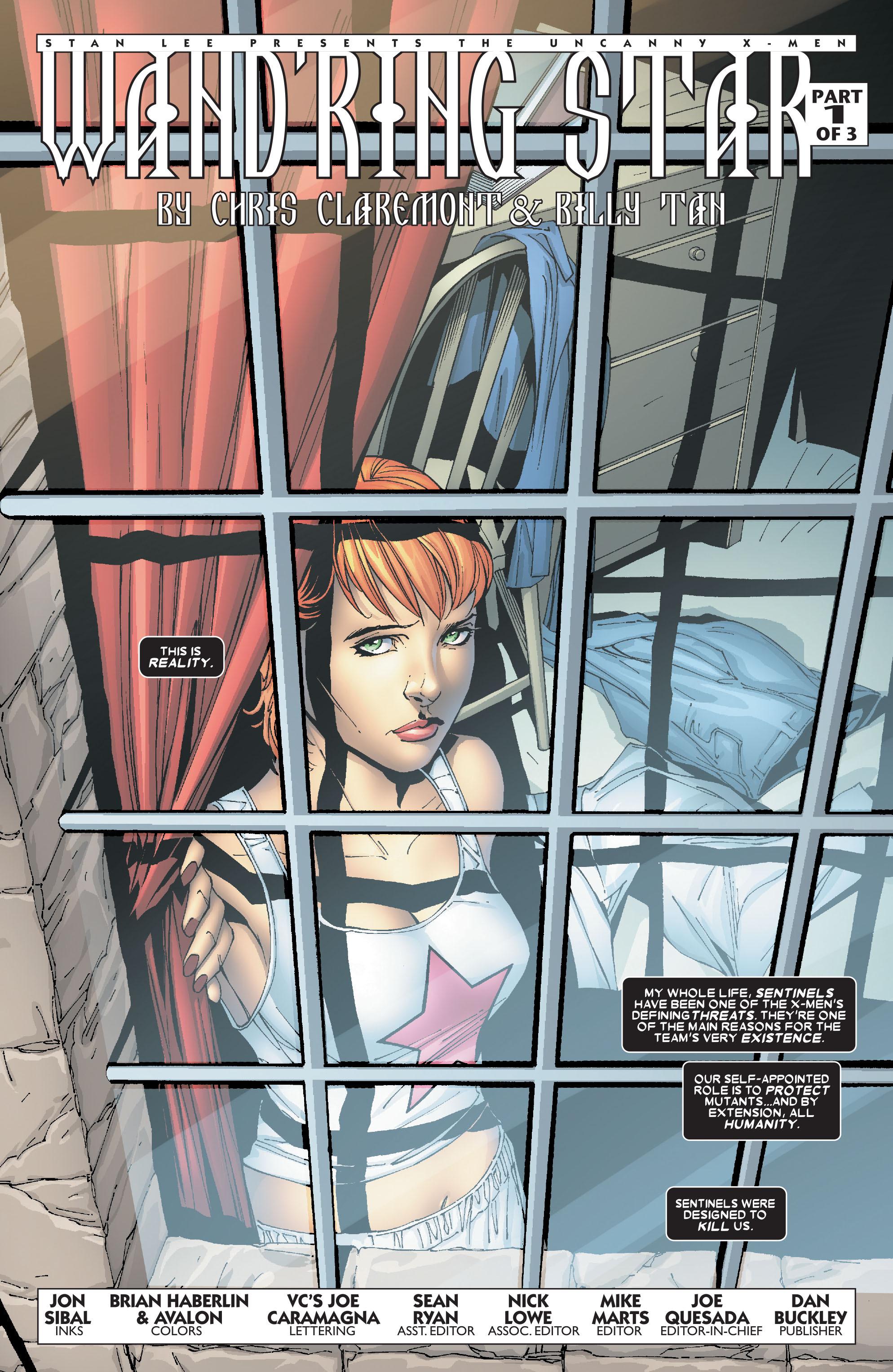 Read online Uncanny X-Men (1963) comic -  Issue #469 - 3
