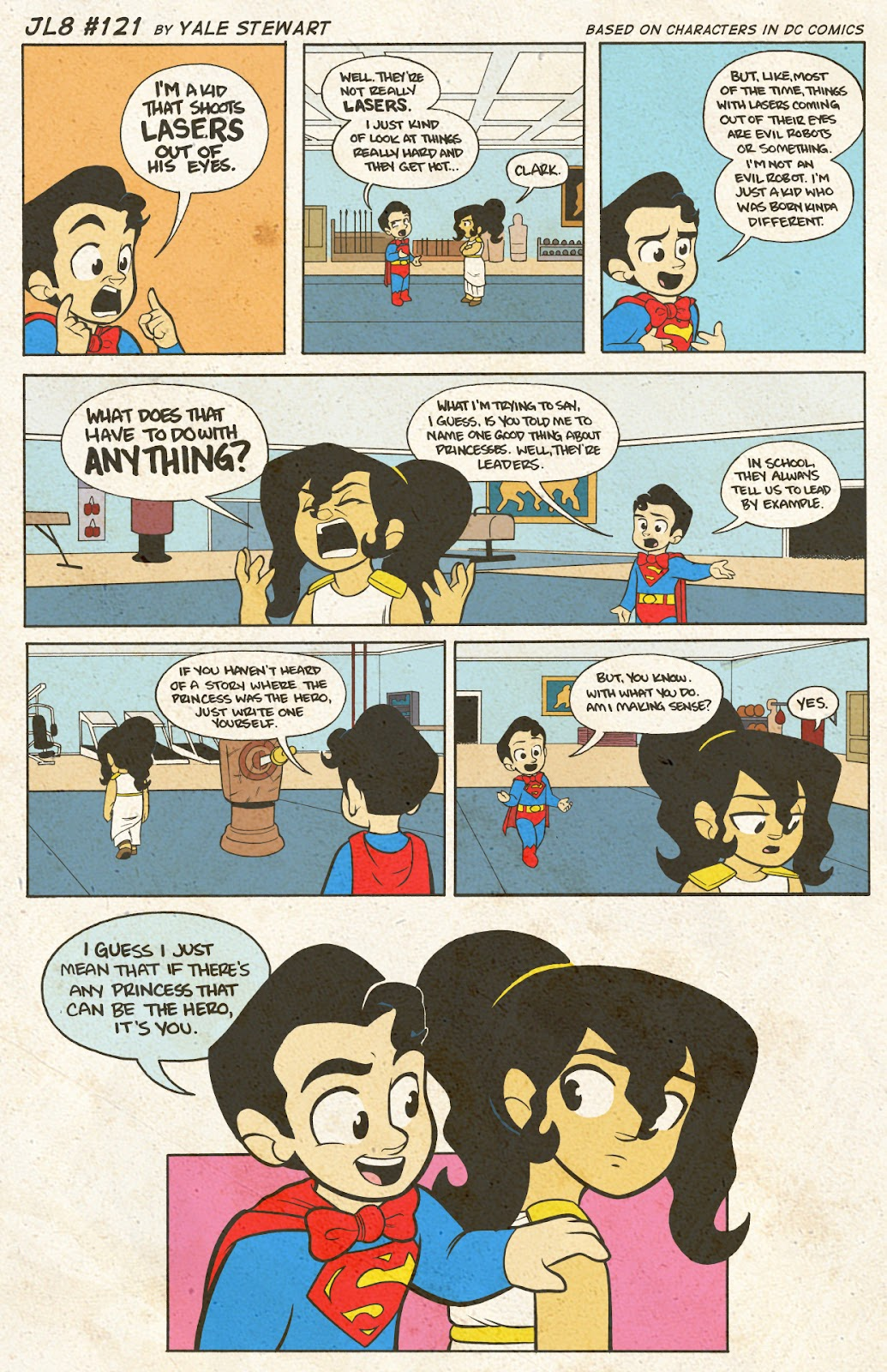 Read online JL8 – The Complete Collection comic -  Issue # TPB (Part 1) - 63