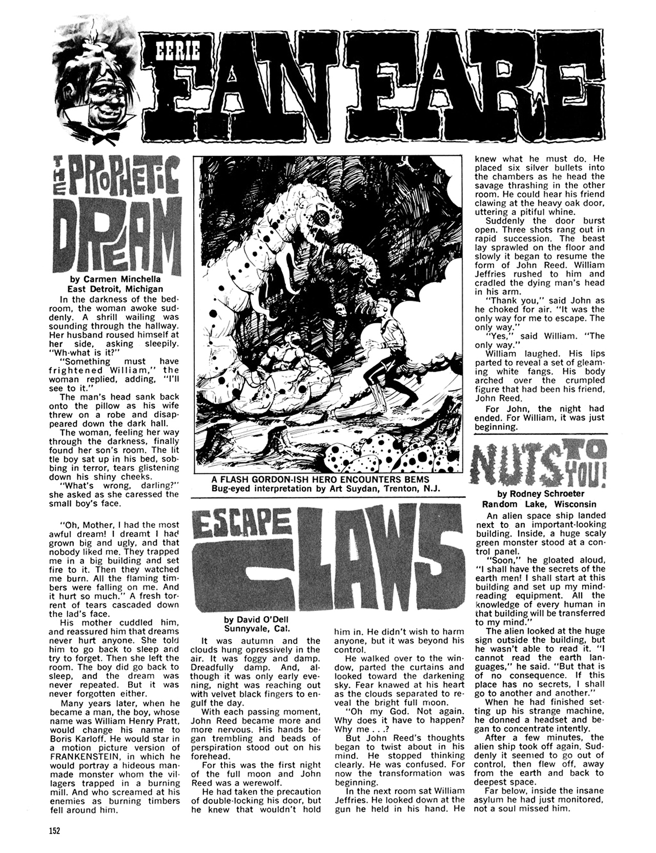 Read online Eerie Archives comic -  Issue # TPB 6 - 152
