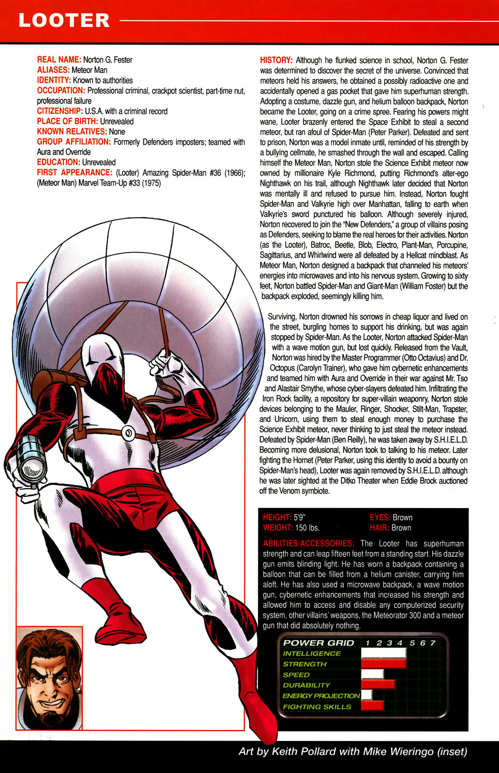 Read online All-New Official Handbook of the Marvel Universe A to Z comic -  Issue #6 - 36