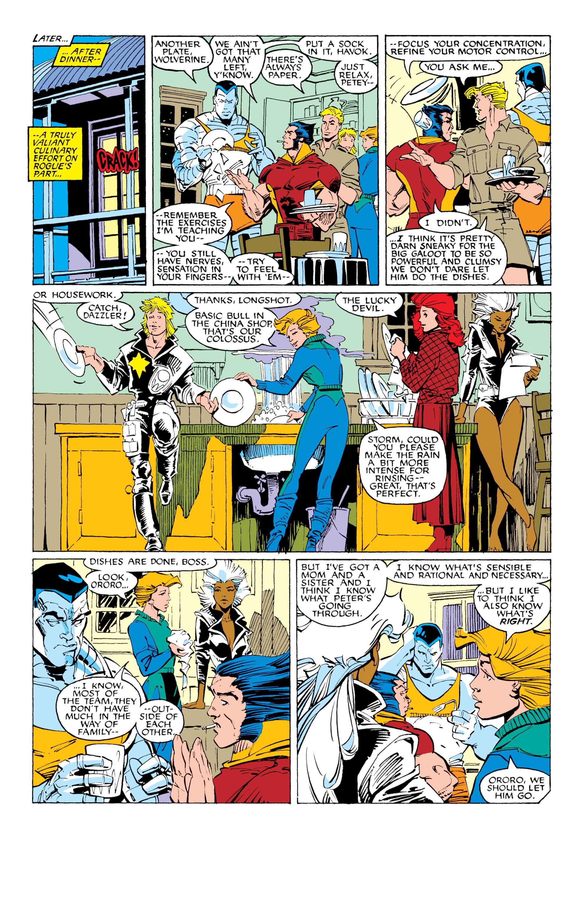 Read online Uncanny X-Men (1963) comic -  Issue #231 - 8
