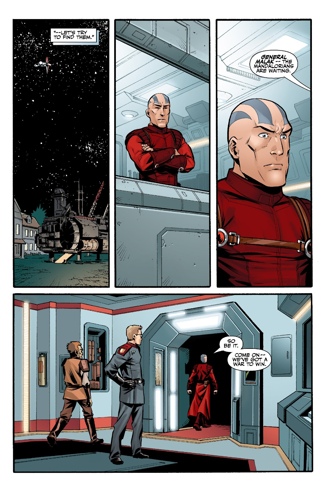 Read online Star Wars Legends: The Old Republic - Epic Collection comic -  Issue # TPB 3 (Part 2) - 21