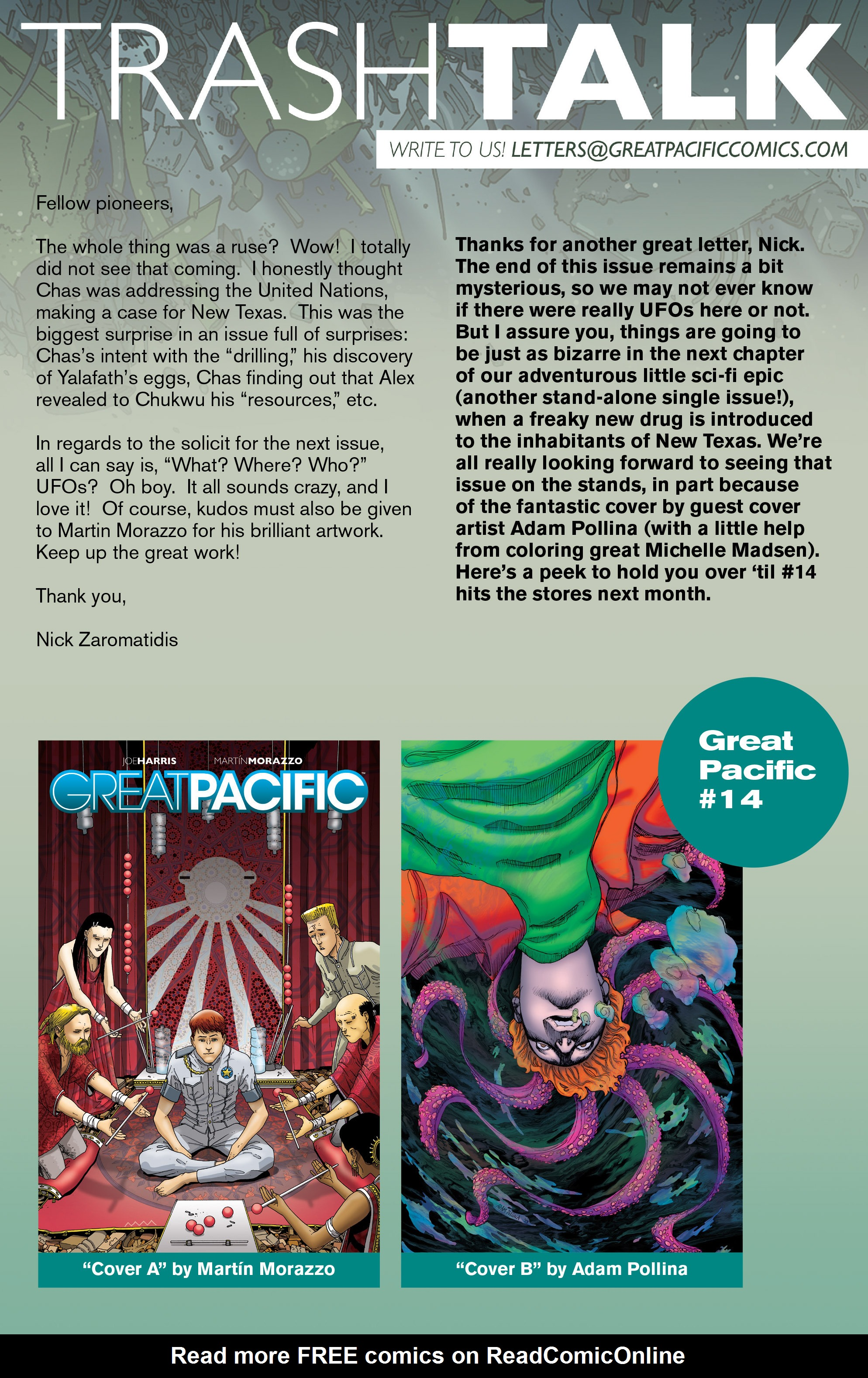 Read online Great Pacific comic -  Issue #13 - 24