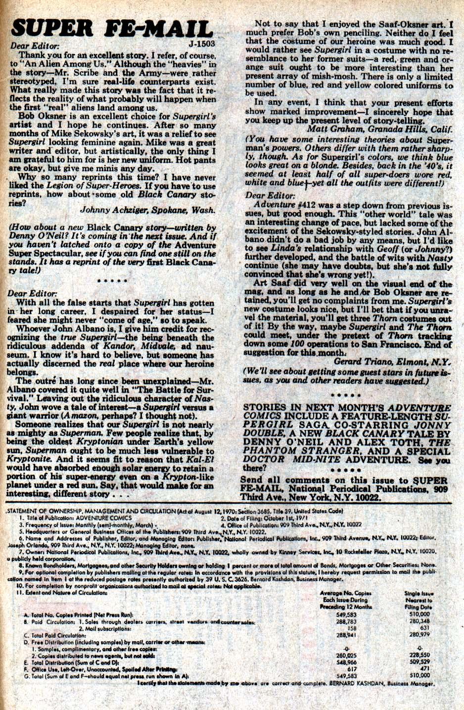 Read online Adventure Comics (1938) comic -  Issue #417 - 49