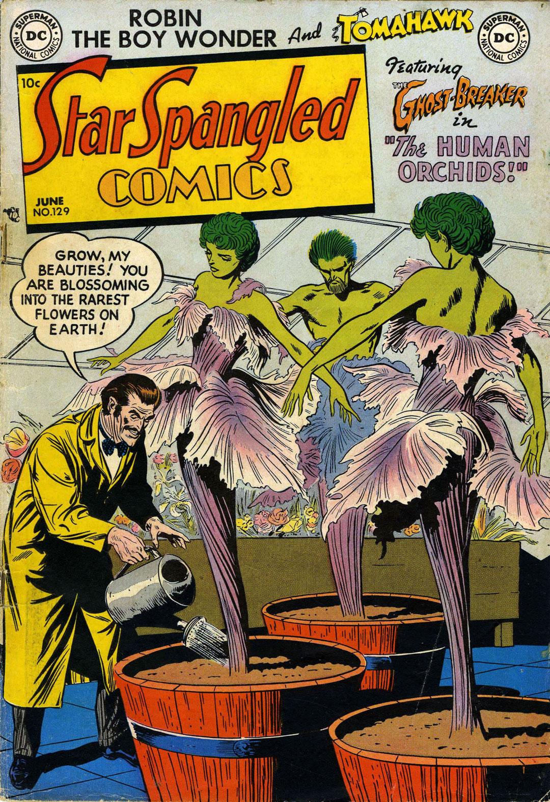 Star Spangled Comics (1941) 129 Page 1
