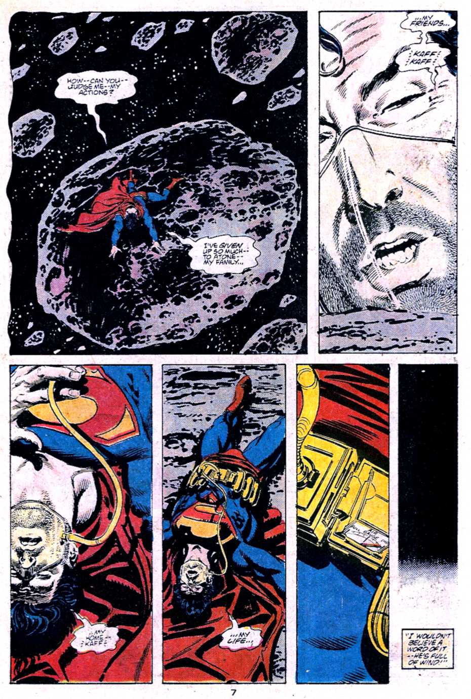 Read online Adventures of Superman (1987) comic -  Issue #453 - 7