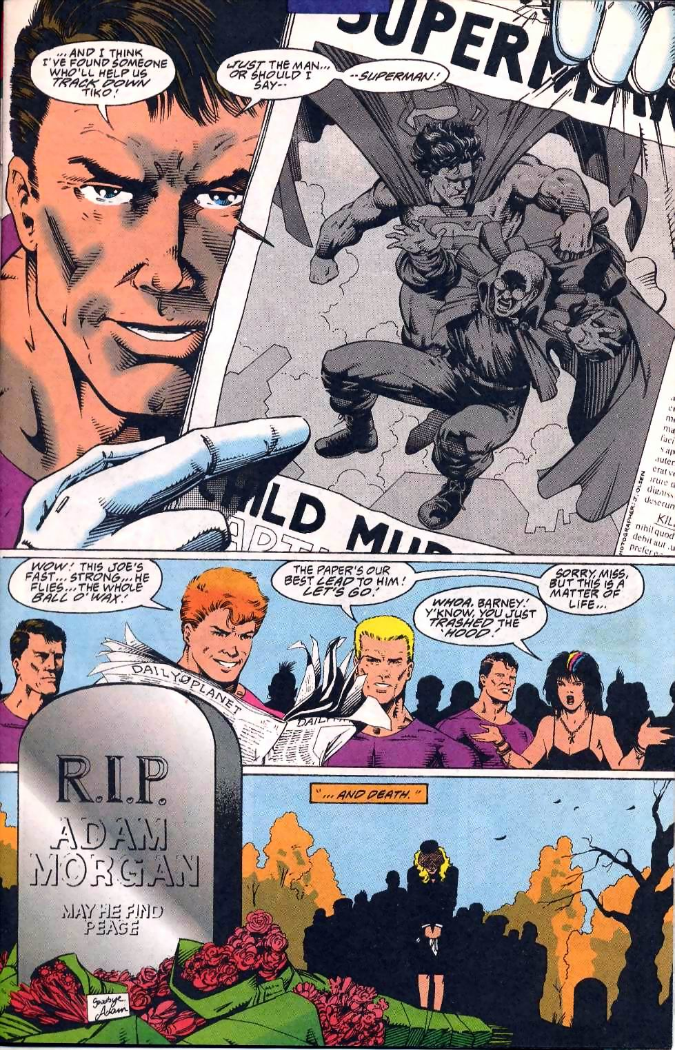 Read online Adventures of Superman (1987) comic -  Issue #508 - 7