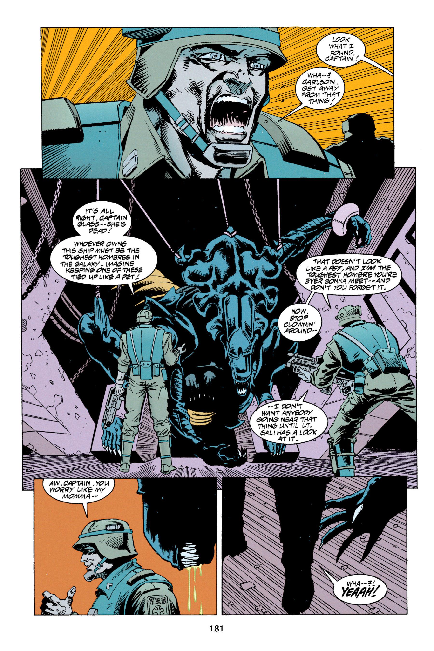Read online Aliens vs. Predator Omnibus comic -  Issue # _TPB 1 Part 2 - 79
