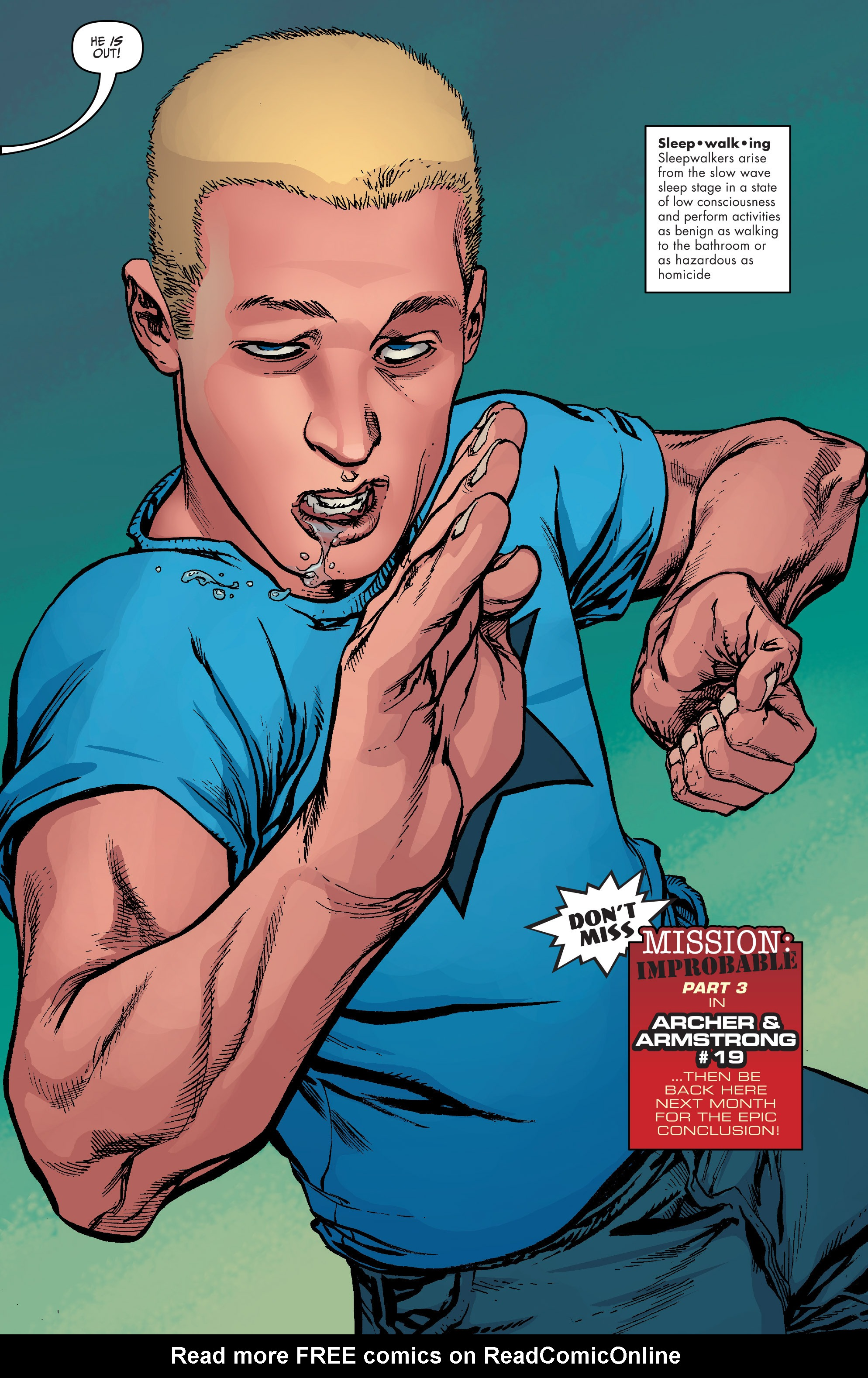 Read online Archer and Armstrong comic -  Issue #Archer and Armstrong _TPB 5 - 76