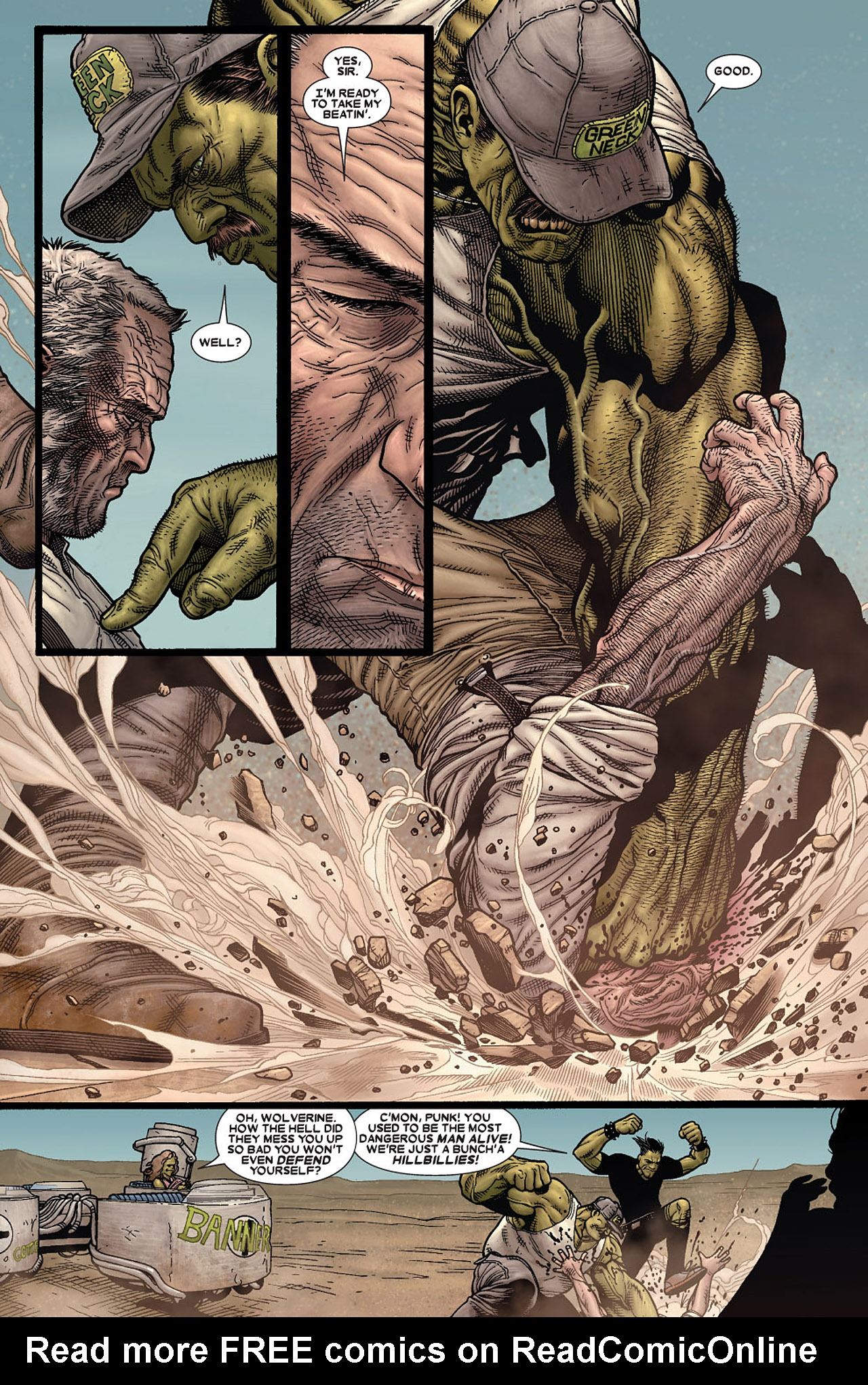 Read online Wolverine: Old Man Logan comic -  Issue # Full - 16