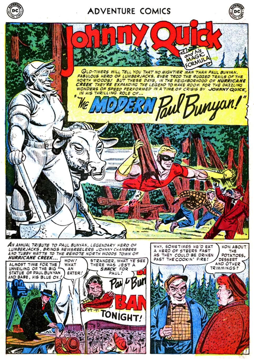 Read online Adventure Comics (1938) comic -  Issue #179 - 25