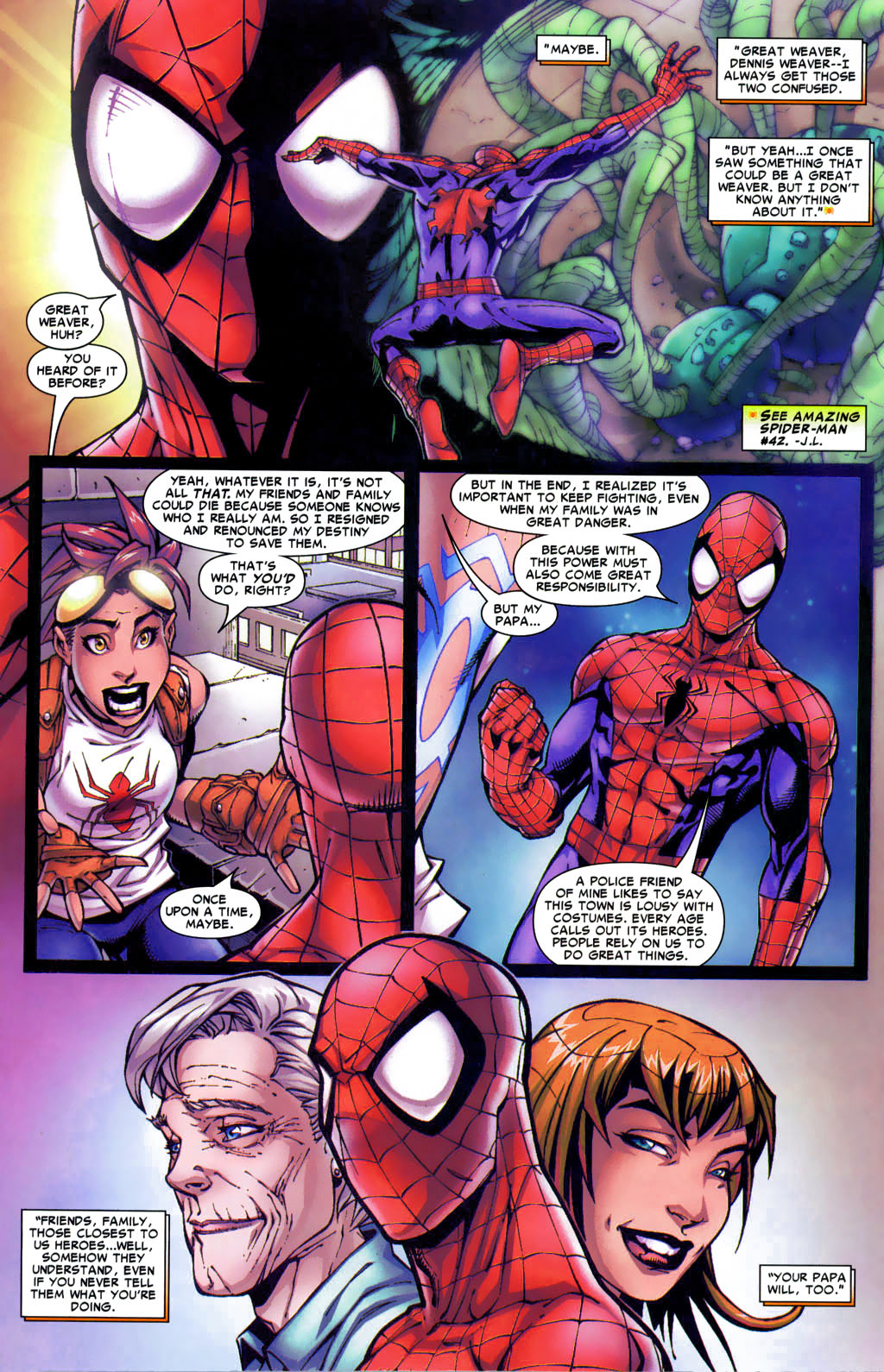 Read online Araña: Heart of the Spider comic -  Issue #4 - 10