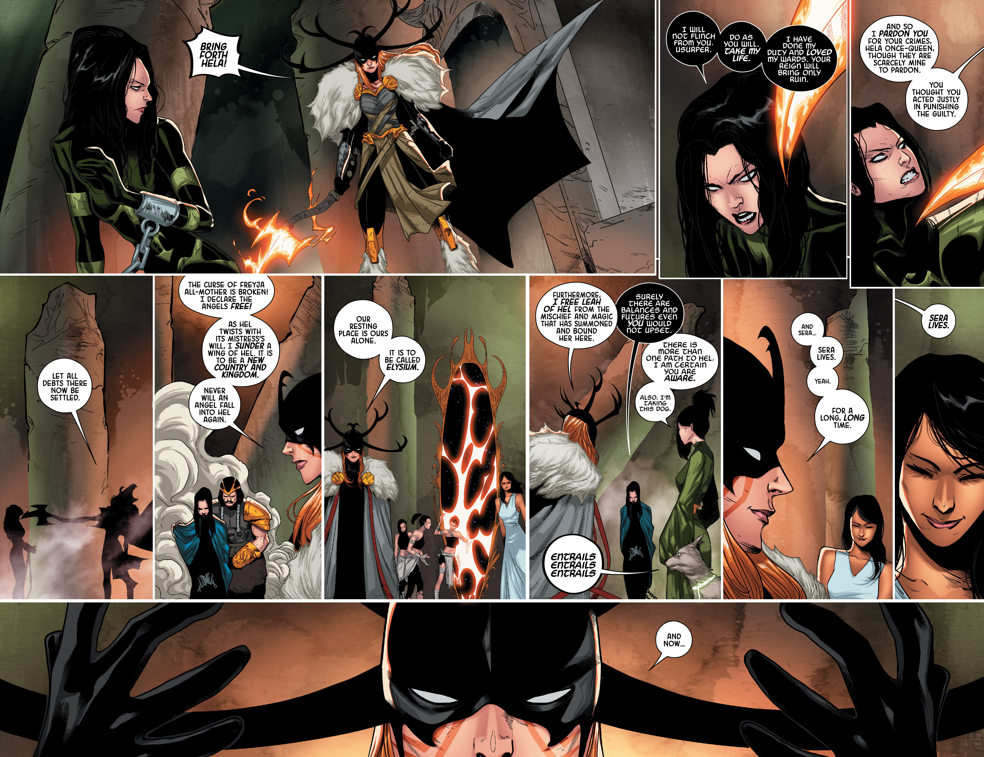 Read online Angela: Queen Of Hel comic -  Issue #5 - 14