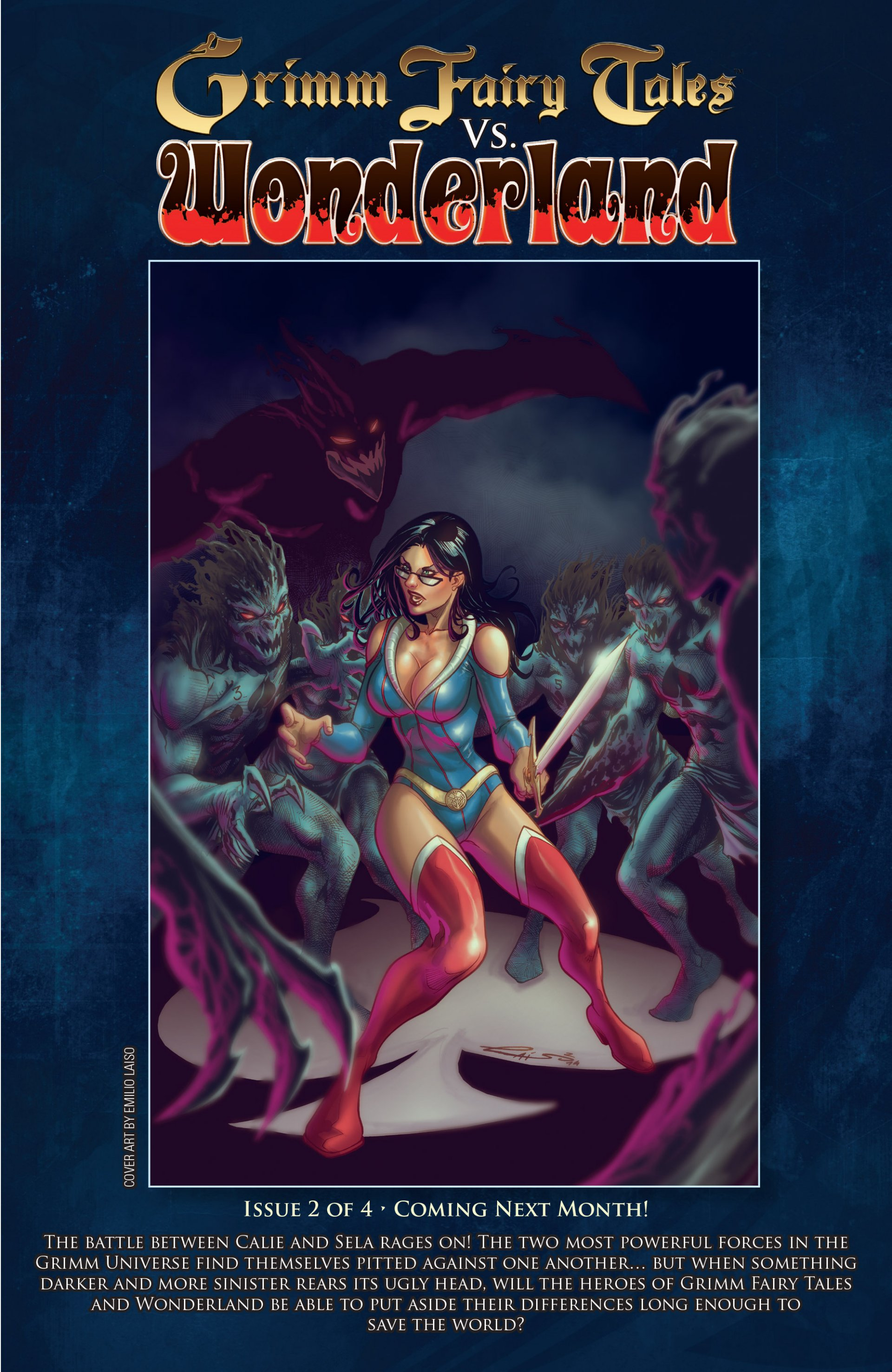Read online Grimm Fairy Tales vs. Wonderland comic -  Issue #1 - 26