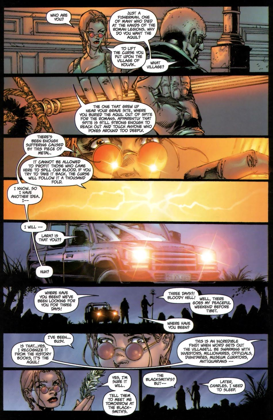 Read online Tomb Raider: The Series comic -  Issue #0 - 18