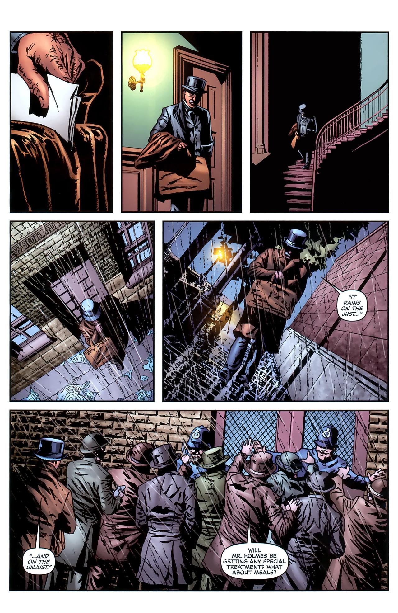 Read online Sherlock Holmes (2009) comic -  Issue #4 - 20