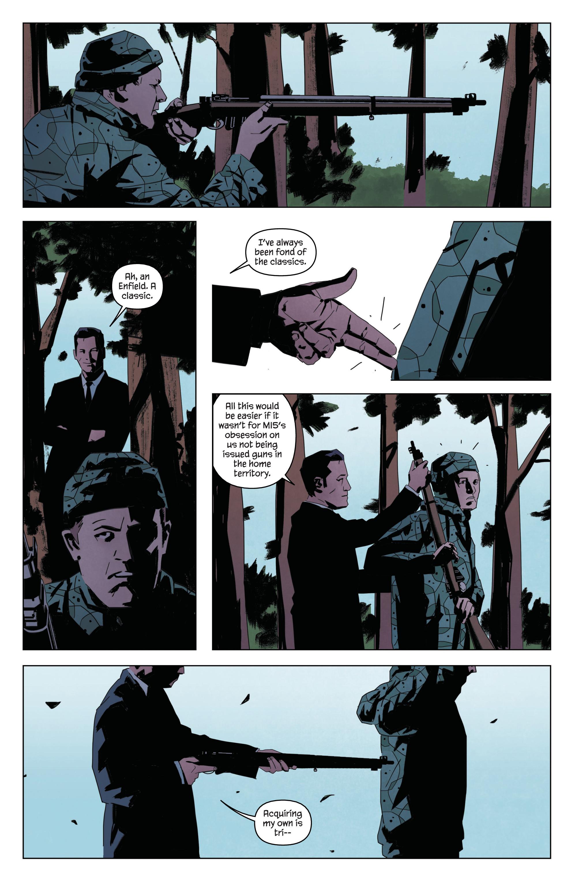 Read online James Bond: Service comic -  Issue # Full - 20