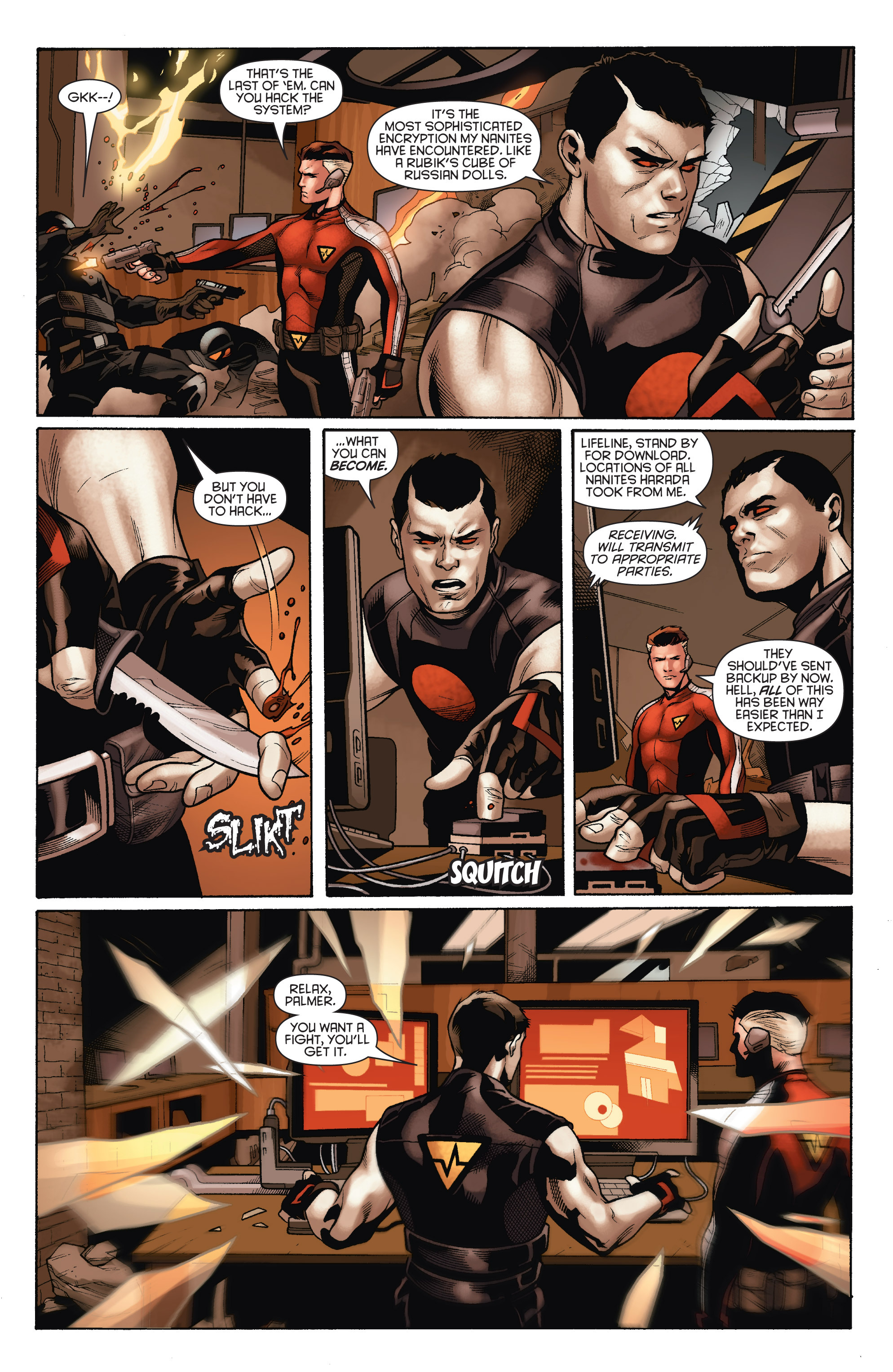 Read online Bloodshot and H.A.R.D.Corps comic -  Issue # TPB 4 - 66