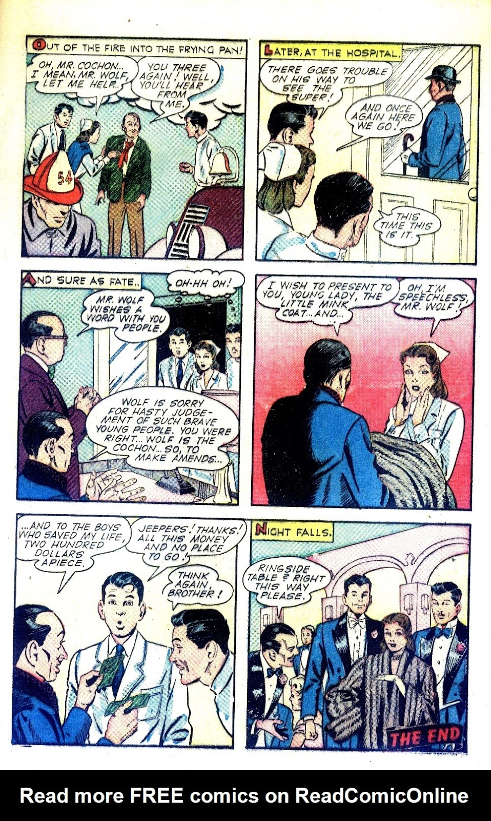 Read online Nellie The Nurse (1945) comic -  Issue #2 - 9