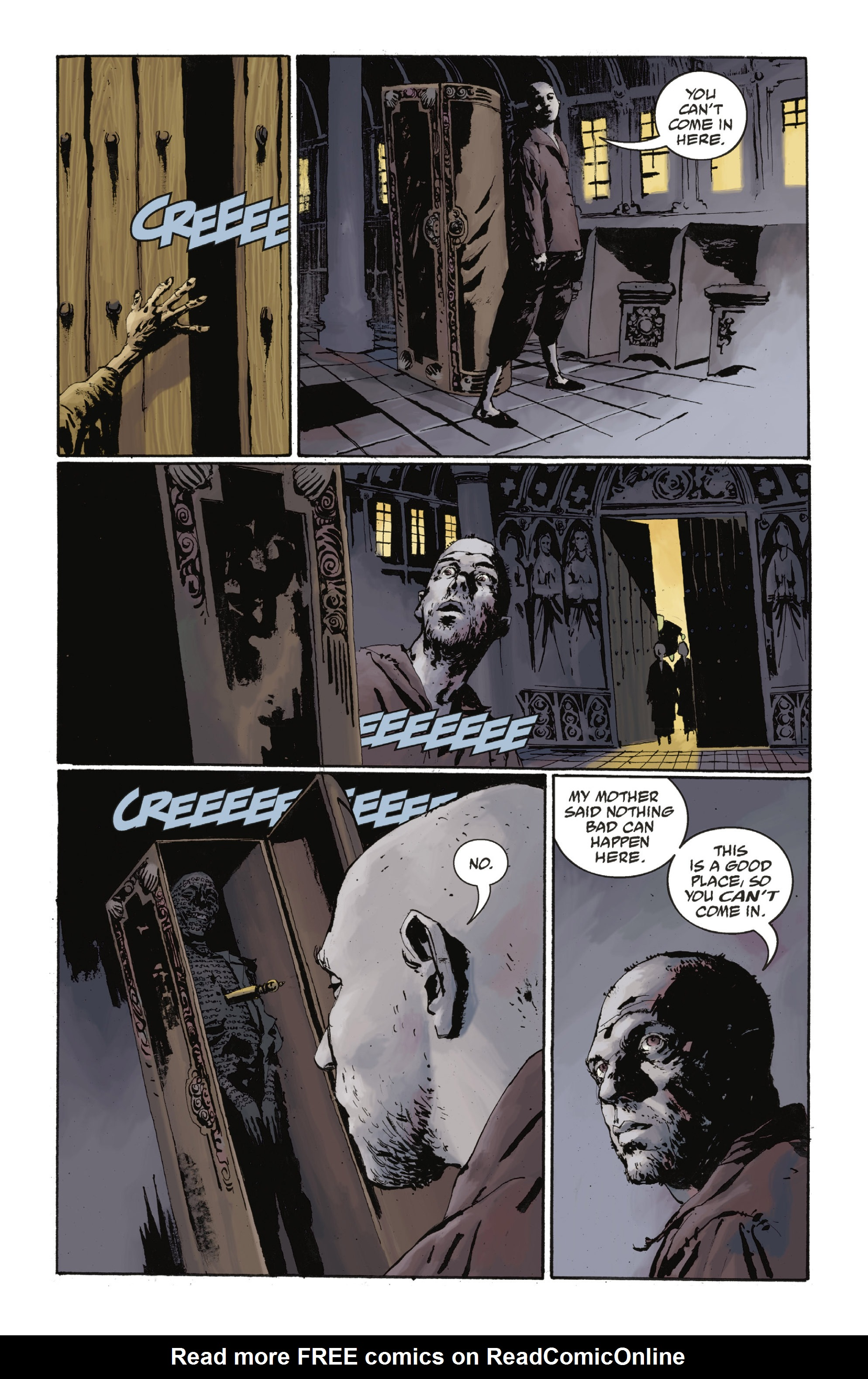 Read online Abe Sapien: The Drowning comic -  Issue #Abe Sapien: The Drowning _TPB - 56