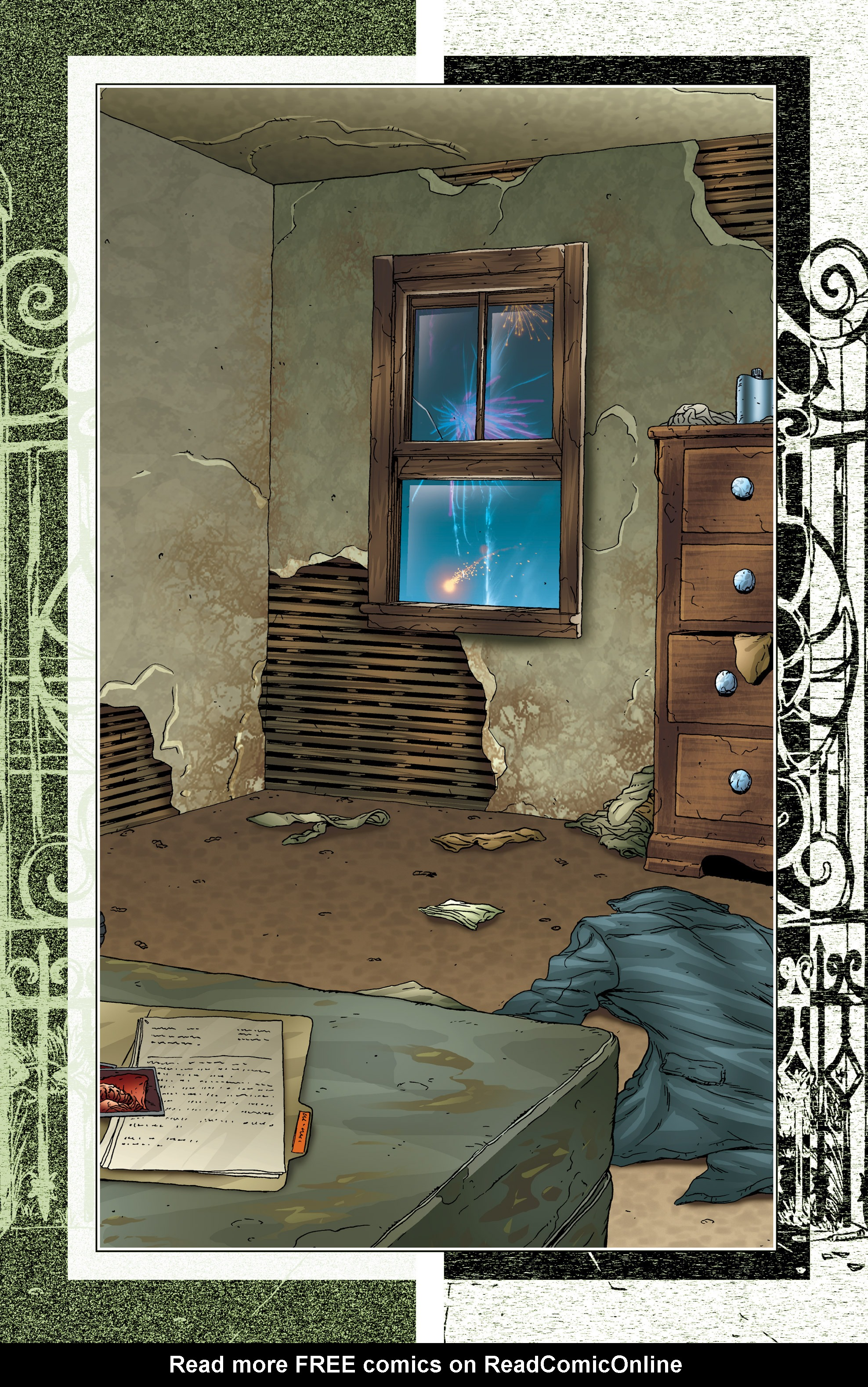Read online Alan Moore's The Courtyard comic -  Issue # TPB - 5