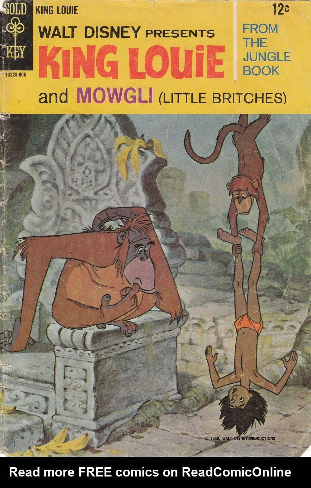 King Louie and Mowgli issue Full - Page 1