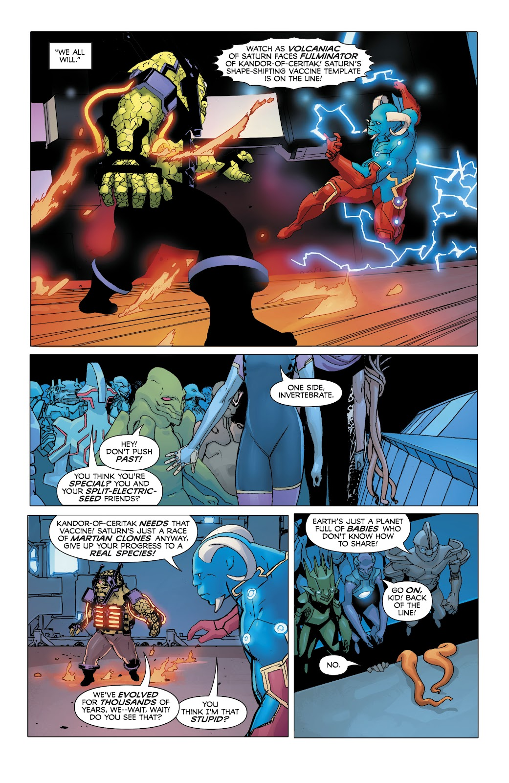 Read online Electric Warriors comic -  Issue #5 - 7