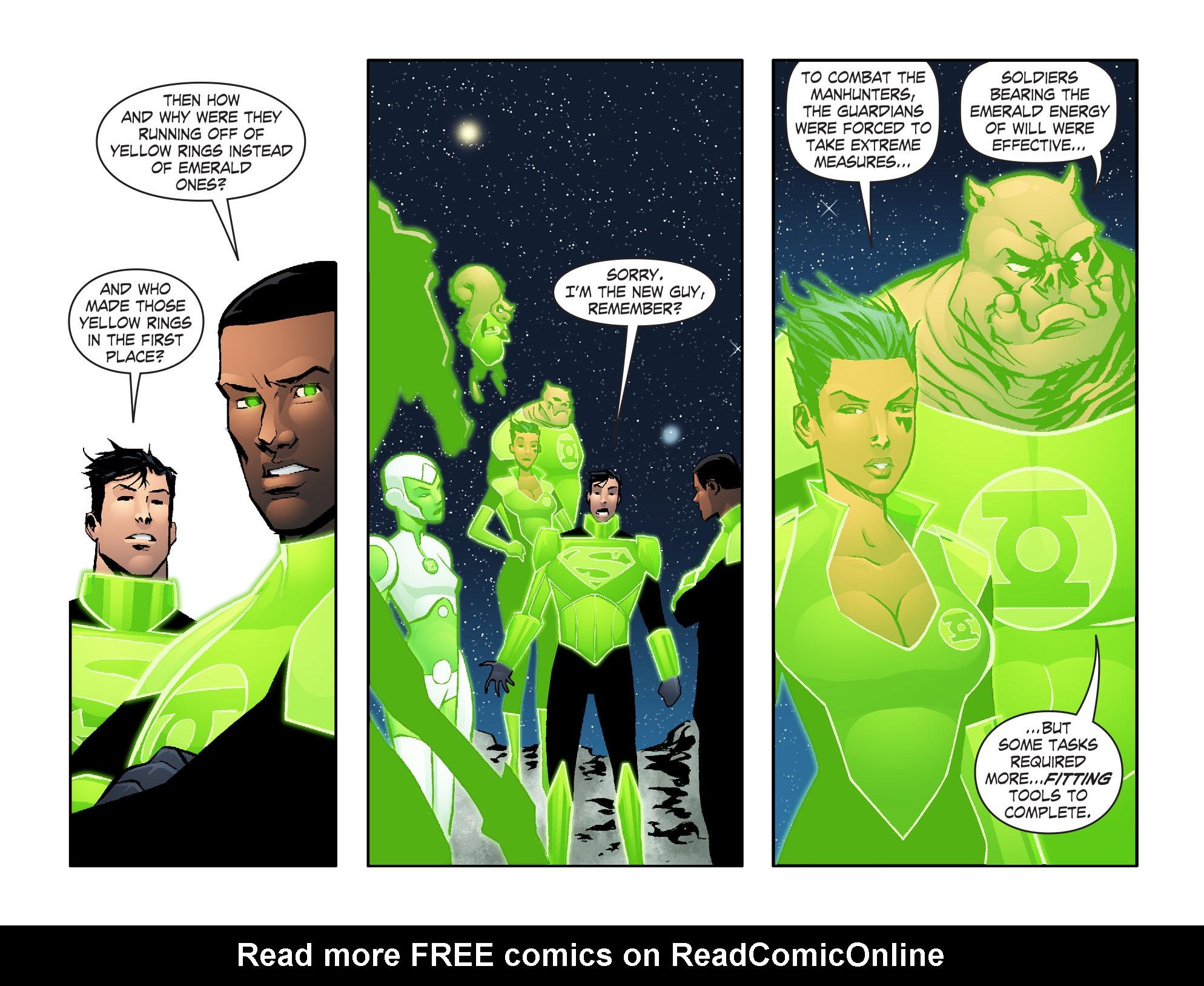 Read online Smallville: Lantern [I] comic -  Issue #6 - 5