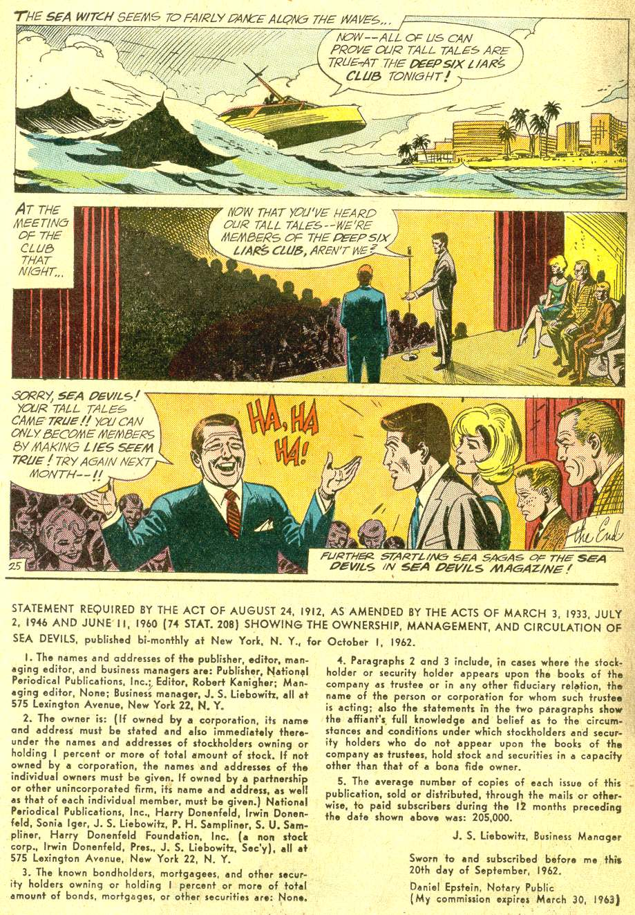 Read online Sea Devils comic -  Issue #10 - 33