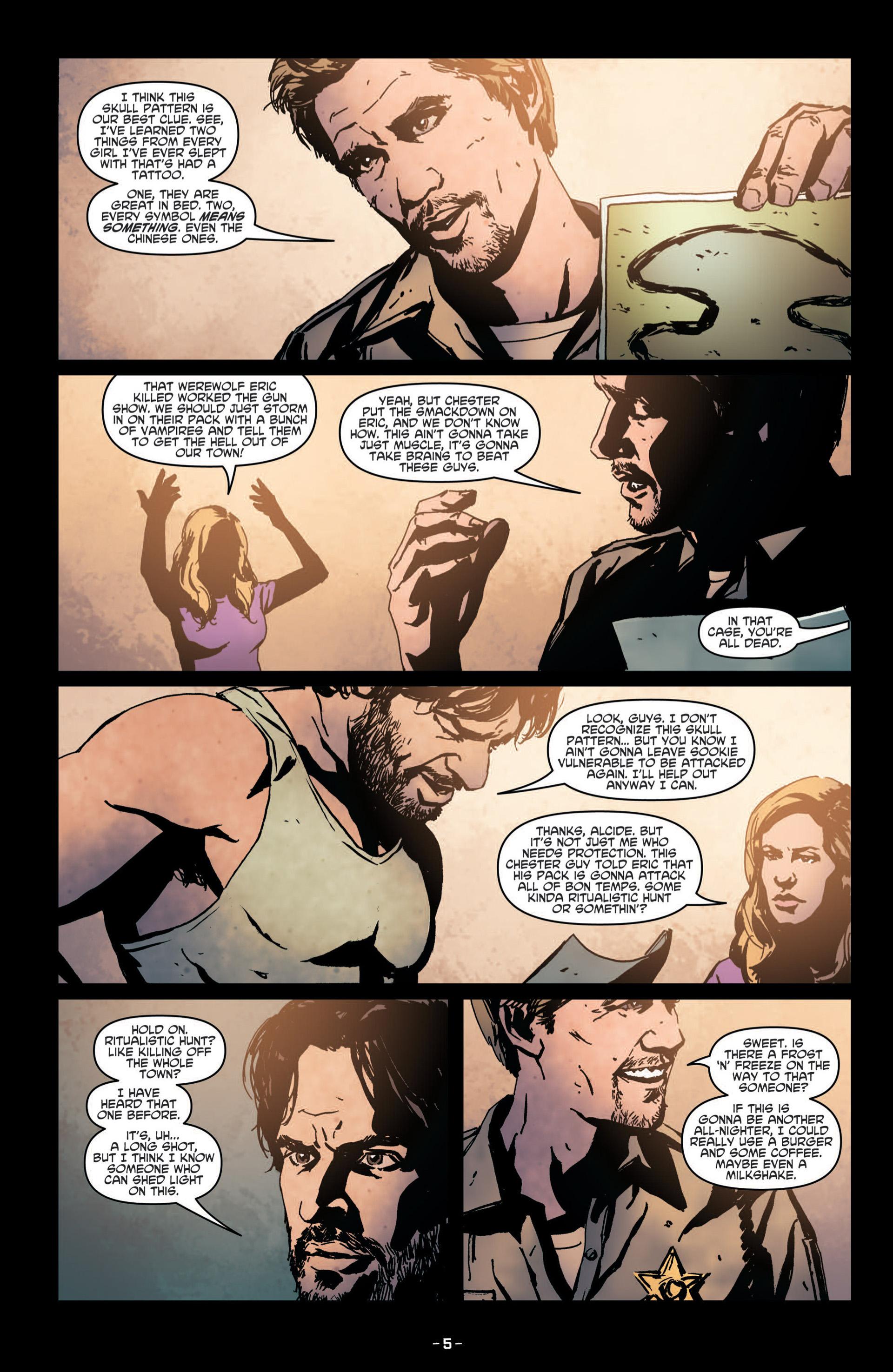 Read online True Blood (2012) comic -  Issue #8 - 7