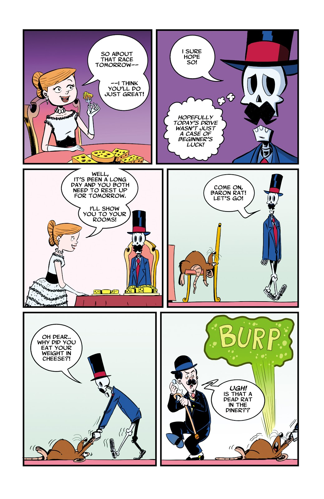 Read online The Adventures of Mr. Crypt and Baron Rat comic -  Issue #2 - 15